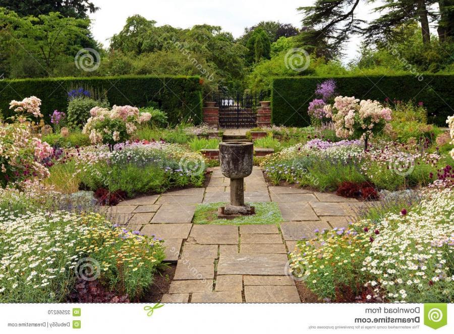 English formal garden photos for Formal english garden designs