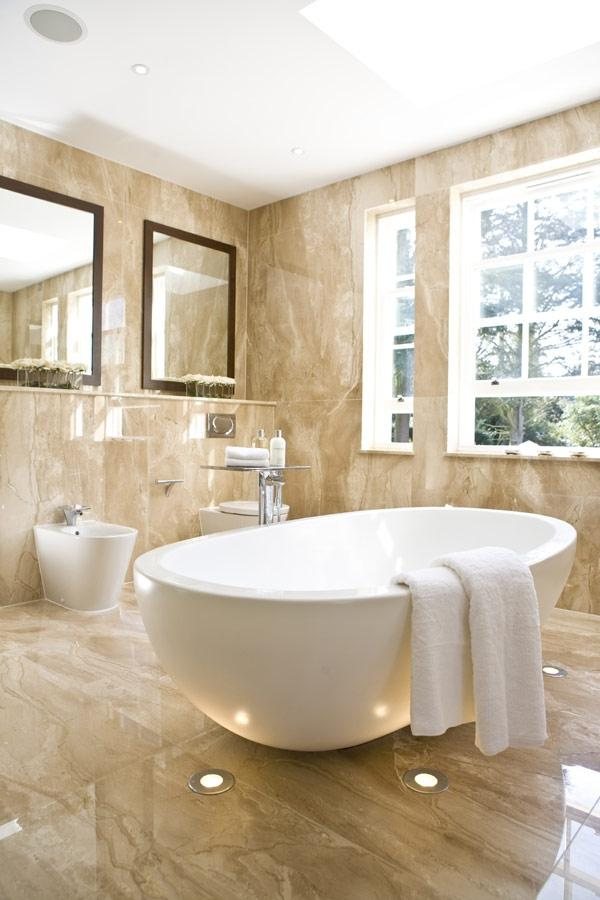 Collect this idea Hill View Bathroom I 7 Refined Modern Bathroom...