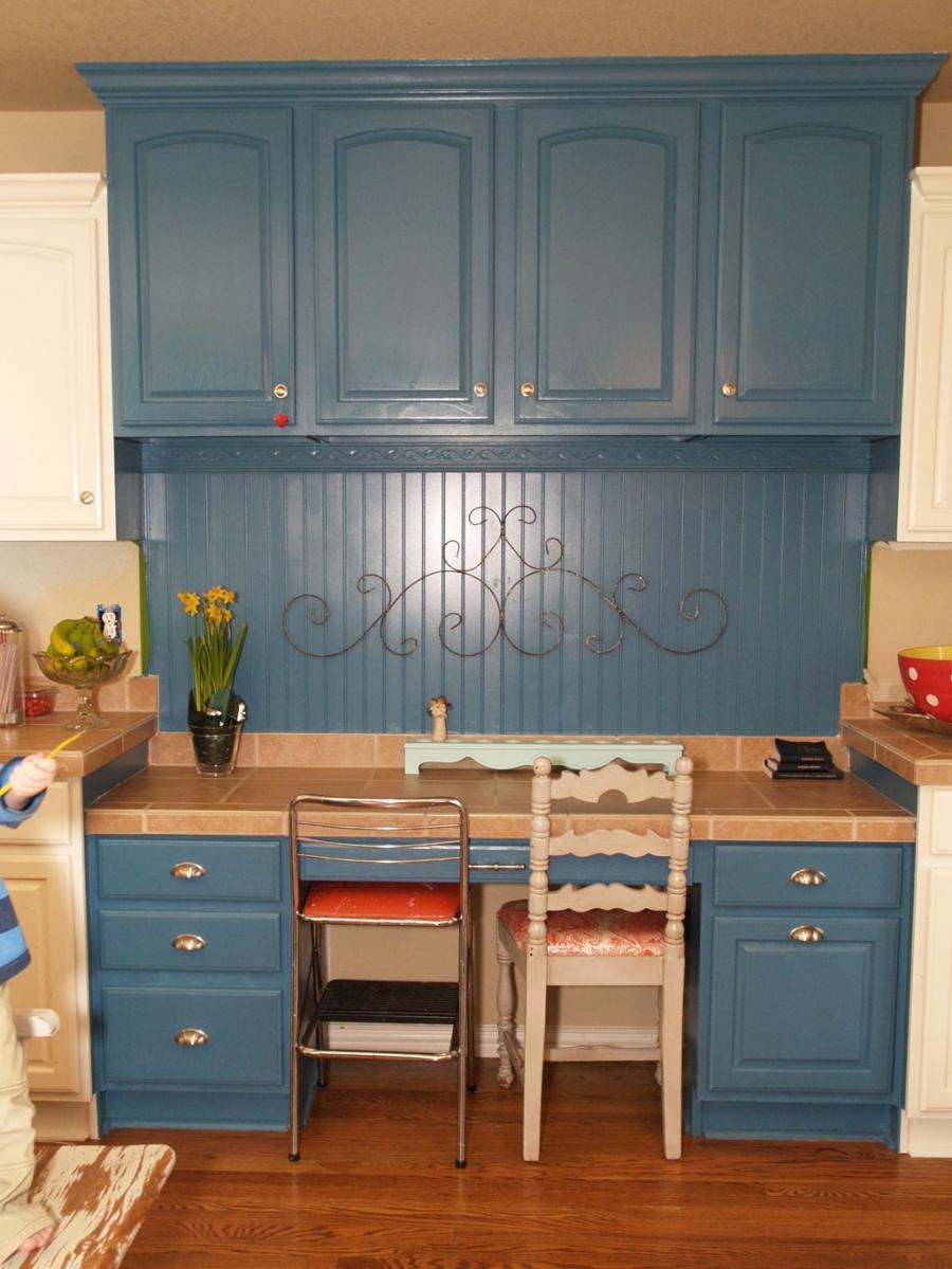 Blue Kitchen Cabinets Kitchens Stylish Blue Kitchen Cabinet