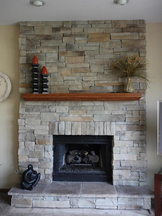 photos of refaced fireplaces. Black Bedroom Furniture Sets. Home Design Ideas