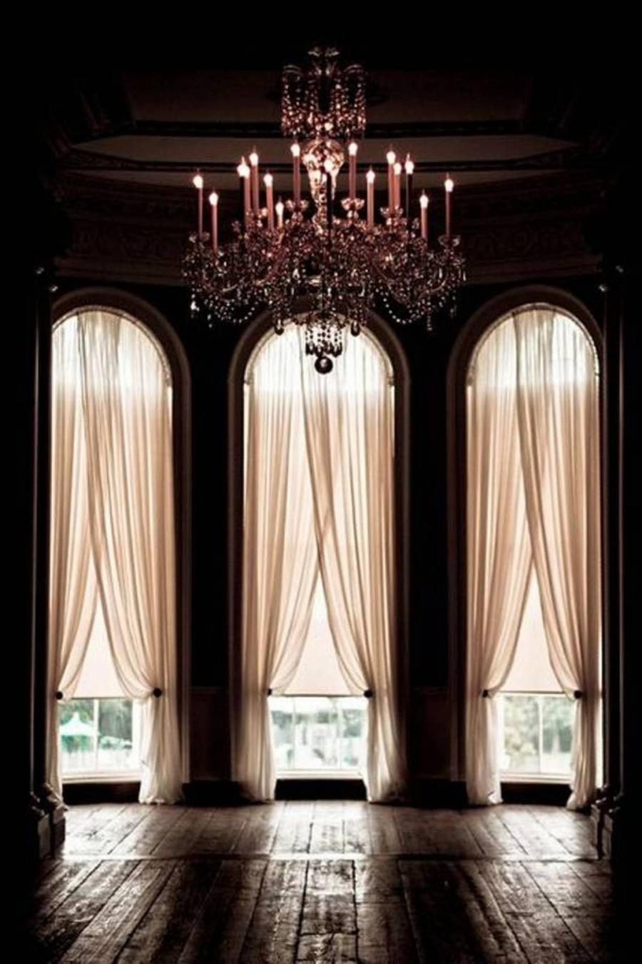 Photos Curtains Arched Windows