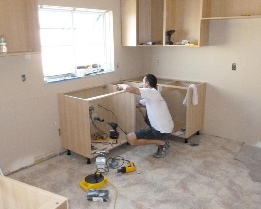 Kitchen Installation Photos