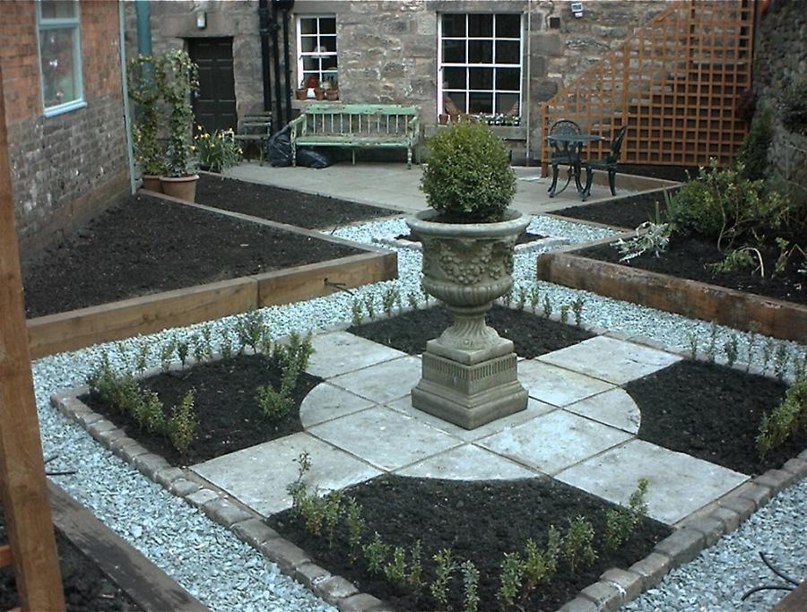 small formal gardens photos