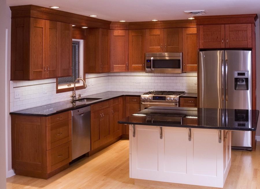 Cherry Wood Kitchen Photos