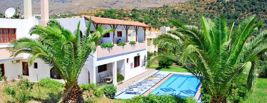 Anthos Apartments in Crete, Plakias