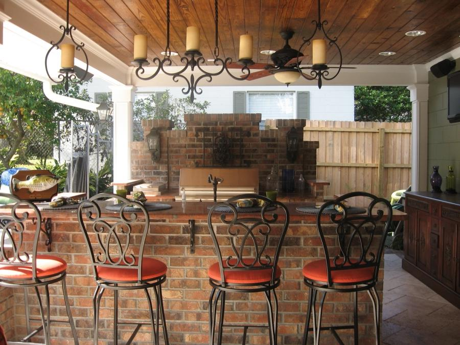 Outdoor kitchen and bar photos Outdoor kitchen cost estimator