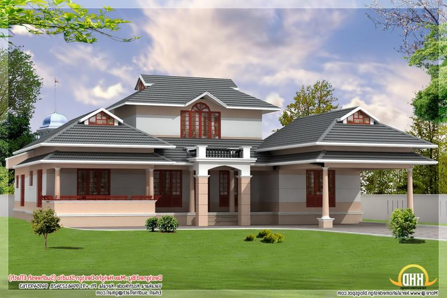 New kerala houses photos for Kerala dream home photos
