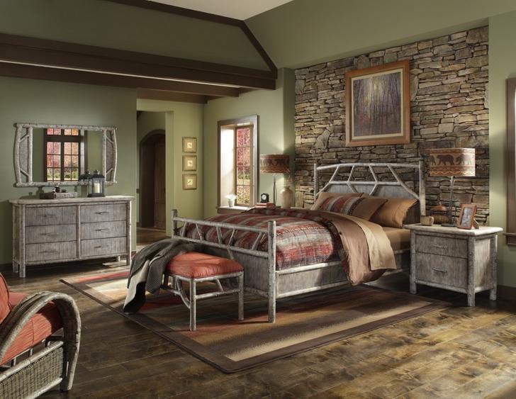 Photos of rustic bedrooms for Rustic elegant bedroom designs