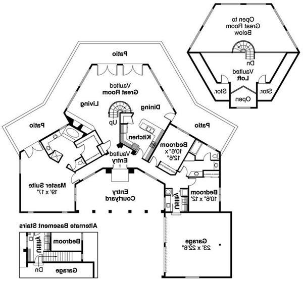 Southwest house plans photos for Southwest home plans