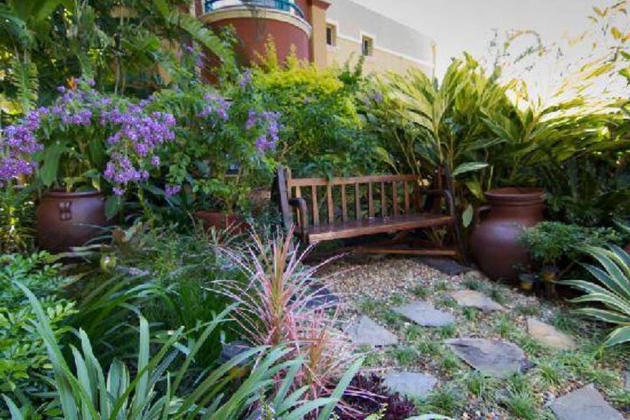 Tuscan garden design photos