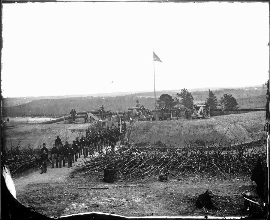 civil war glass plate photos