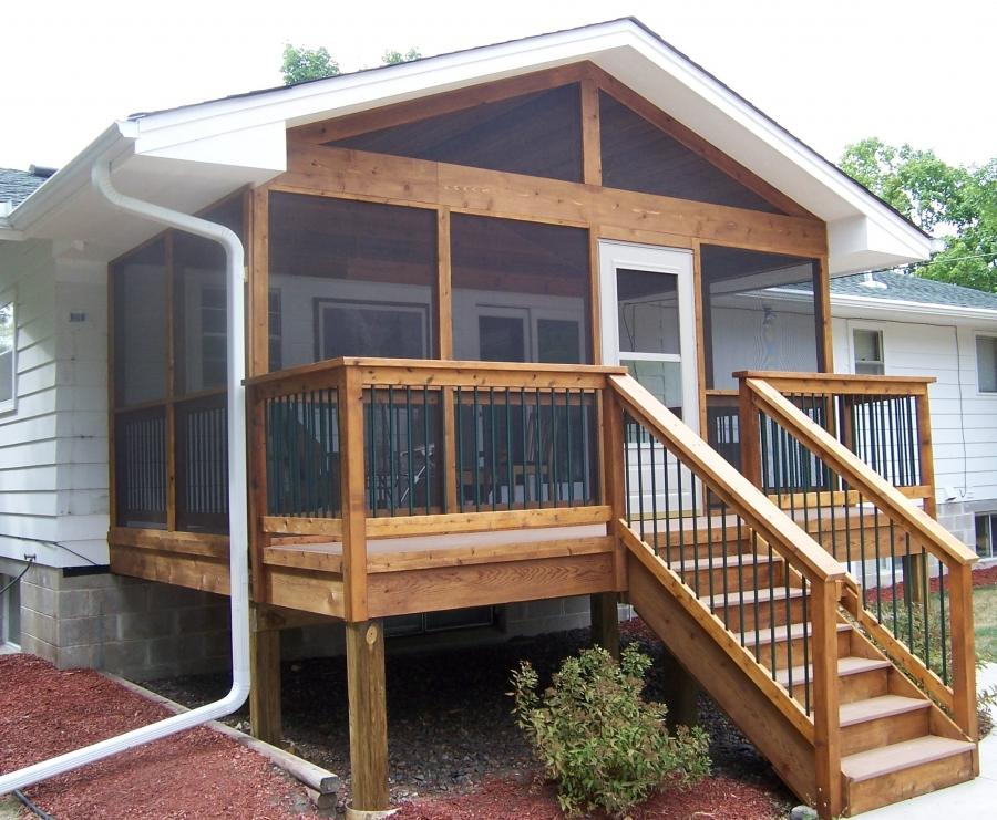 Backyard Living Source : Outdoor Living Improvements Screen Porches, Screen Enclosure in