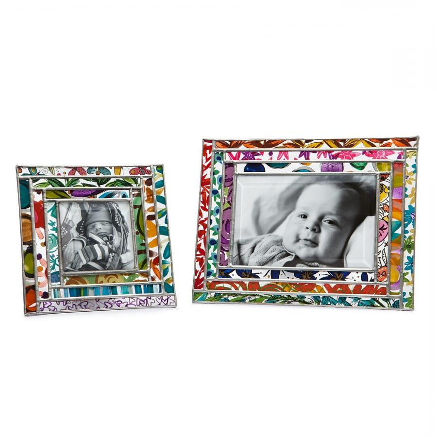 glass photo frame 4x6