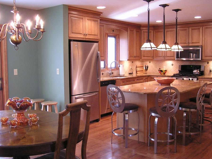 Split Level Kitchen Remodel Photos