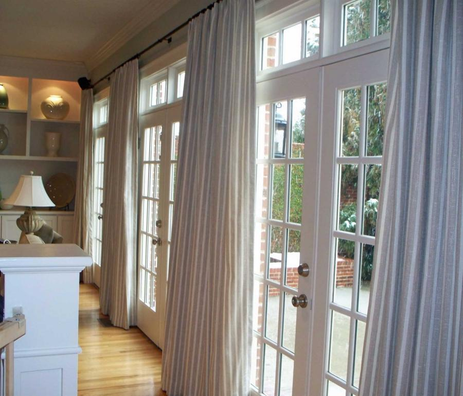 ... Window Covering Treatments for French Doors Idea ...