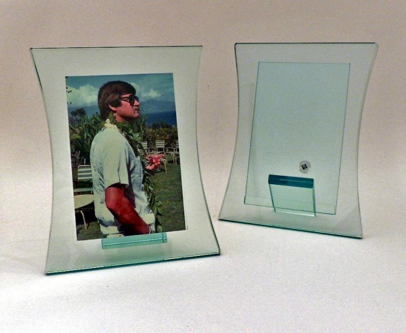 heavy glass photo frames