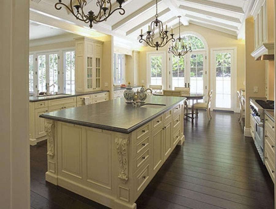 White French Country Kitchen Cabinets Pict Kitchen Design Picture...
