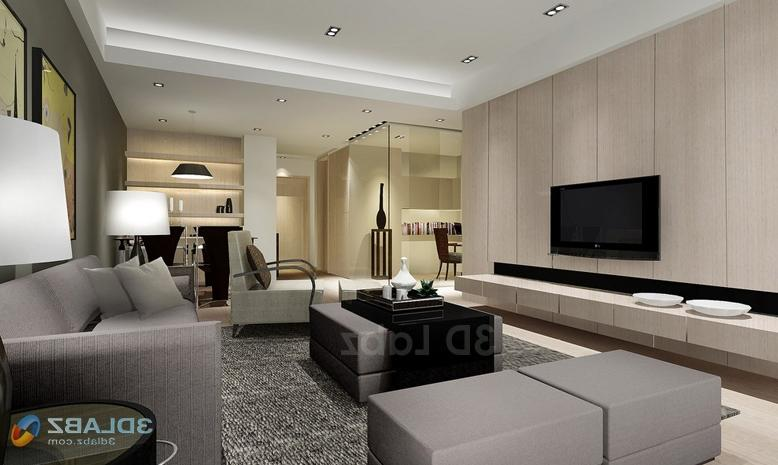 Interior Rendering / Modern_House