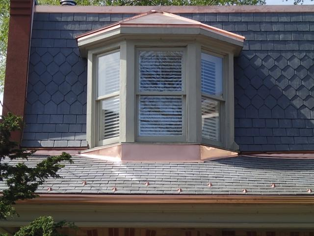 Mansard Metal Photo Roof