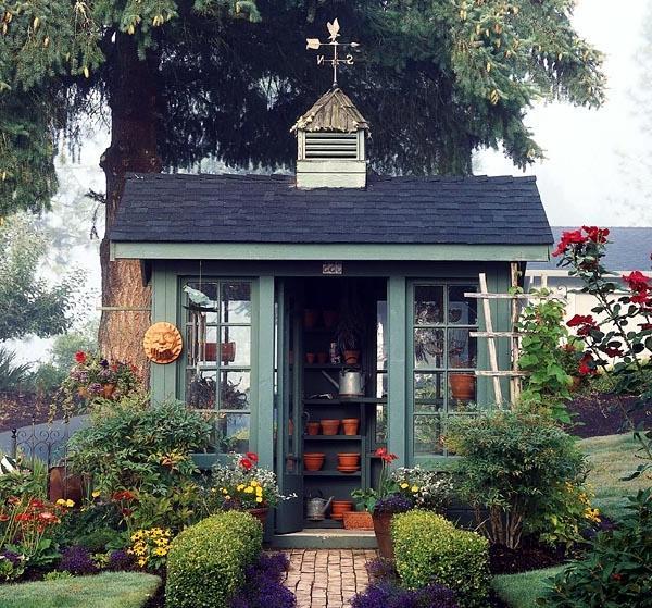 English Garden Sheds Photos