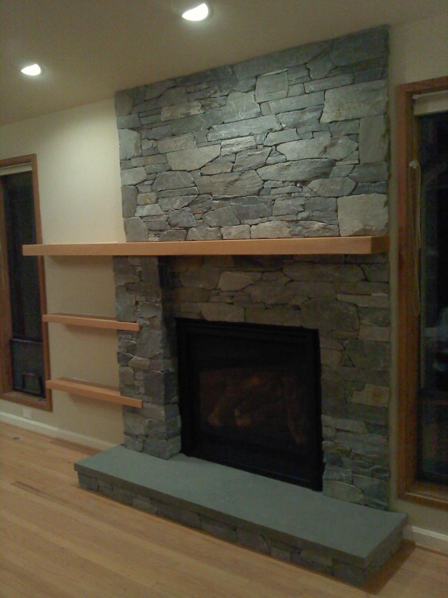 Modern Contemporary Fireplace Mantel Shelf Photos