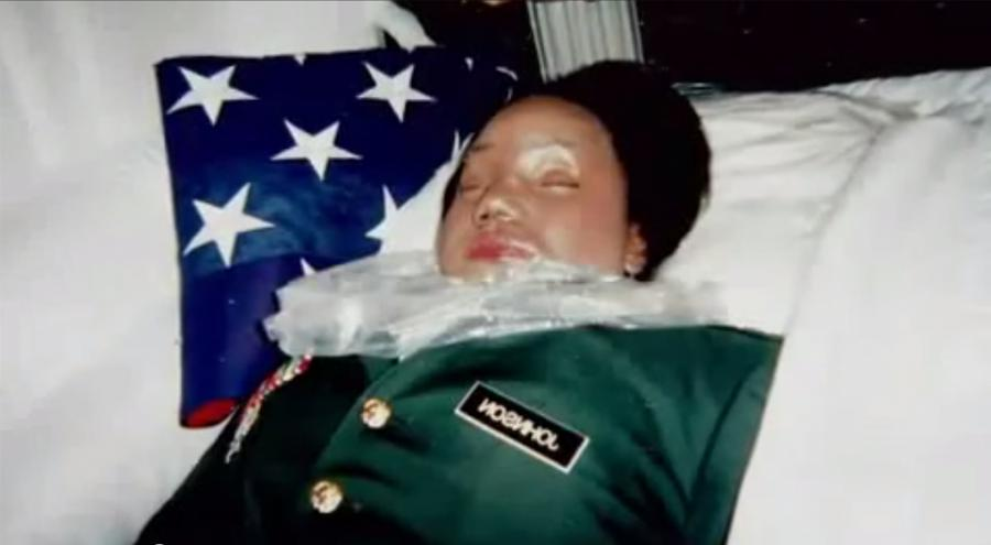 Aaliyah celebrity morgue photo
