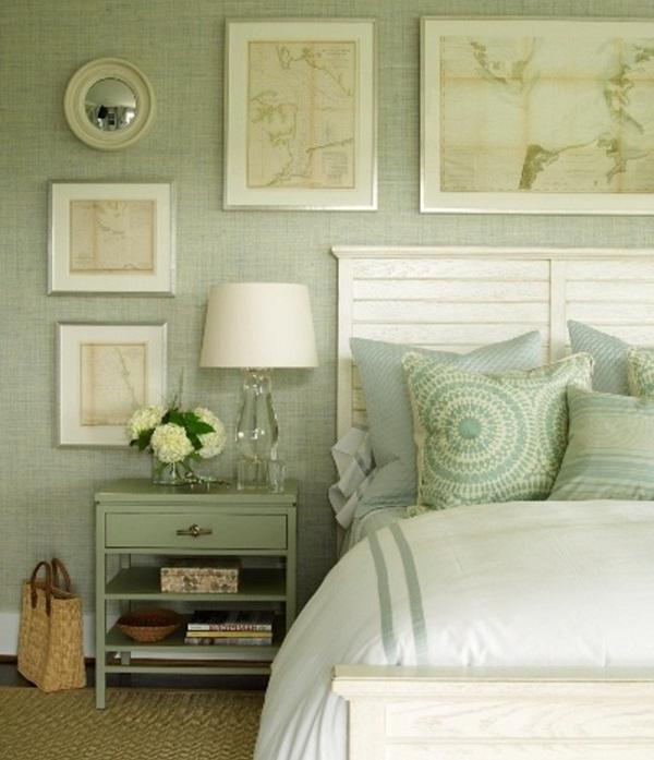 Bedroom Green Photo Sage