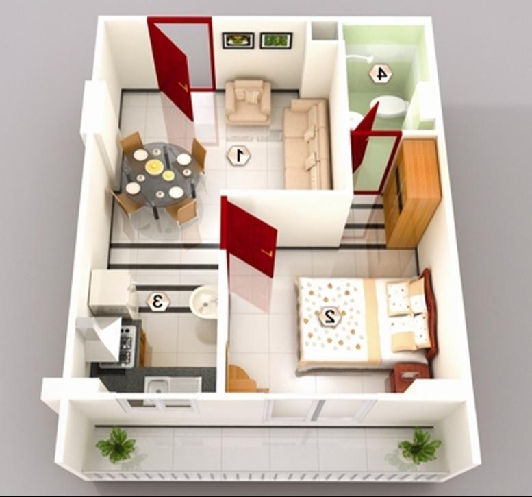 1 bhk interior design photos for Interior decoration pictures 2 bhk flats