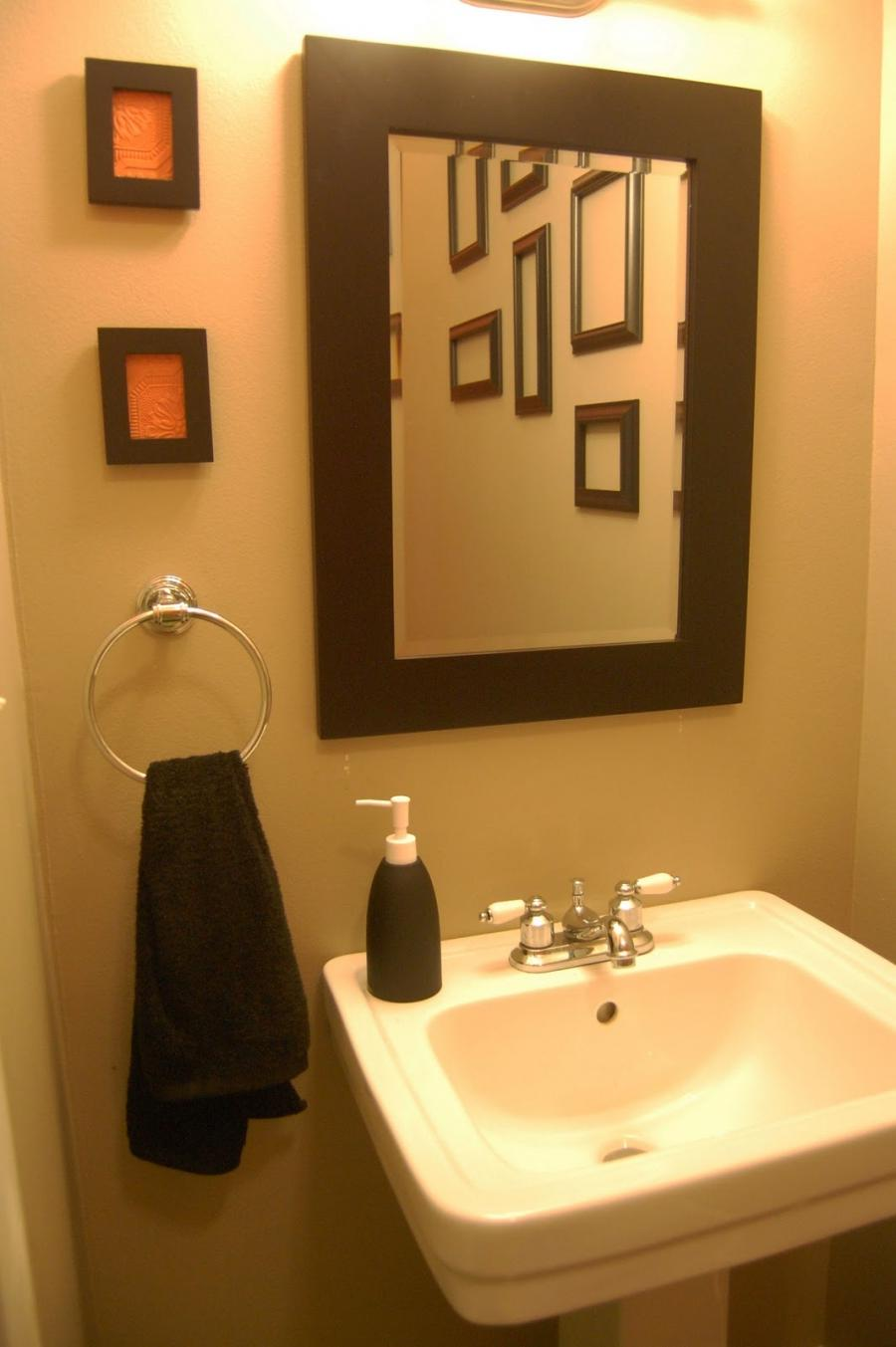 Half bathroom decorating ideas photos for 1 2 bathroom remodel ideas