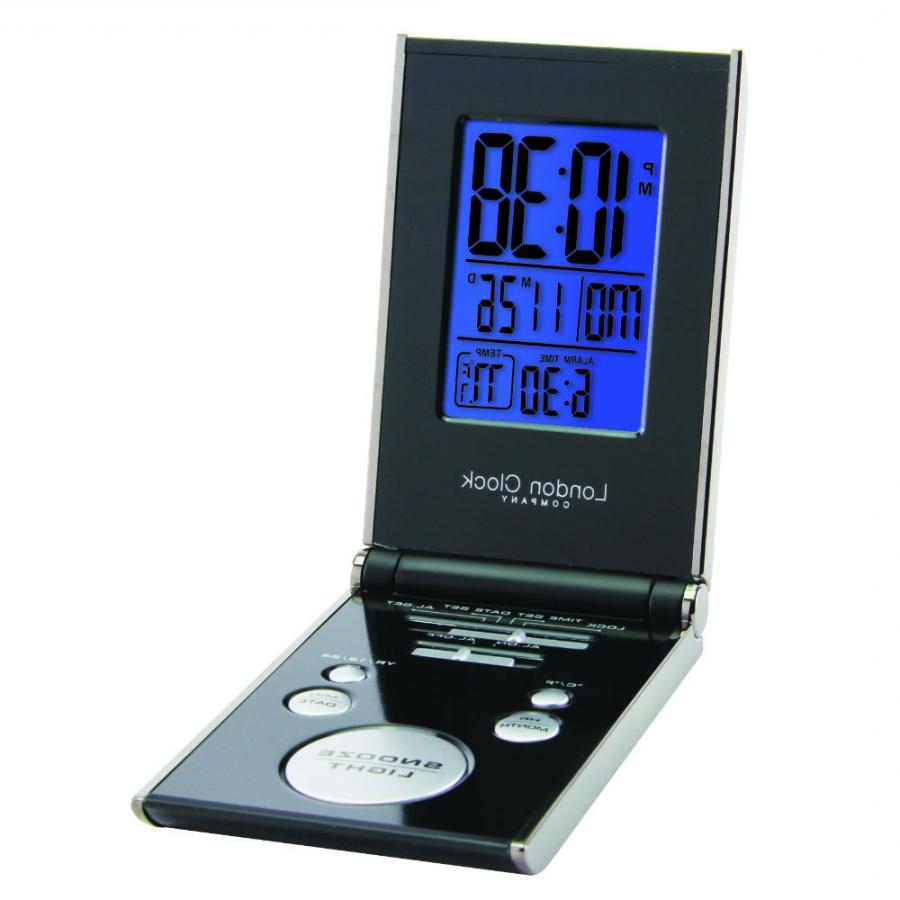 digital photo travel alarm clock. Black Bedroom Furniture Sets. Home Design Ideas