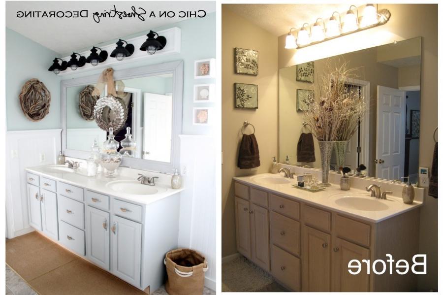 Budget Bathroom Makeover Photos