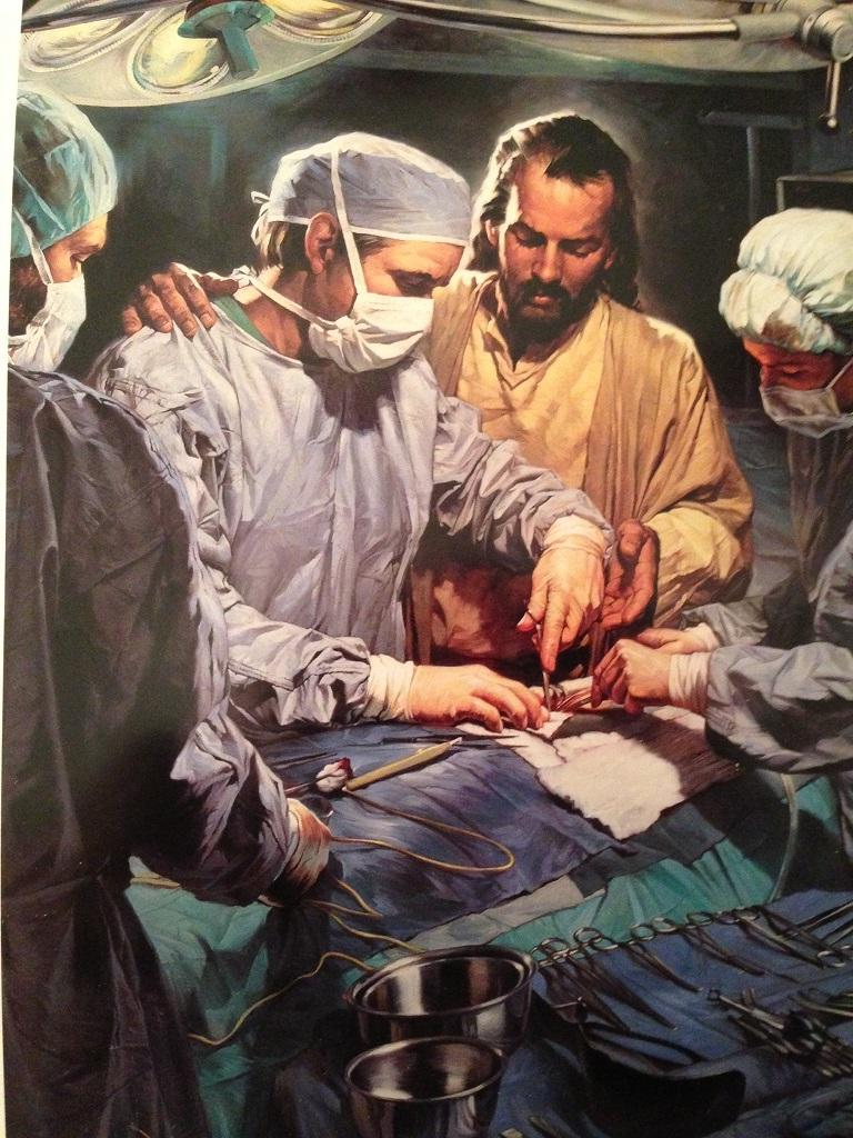 Jesus In The Operating Room Photo
