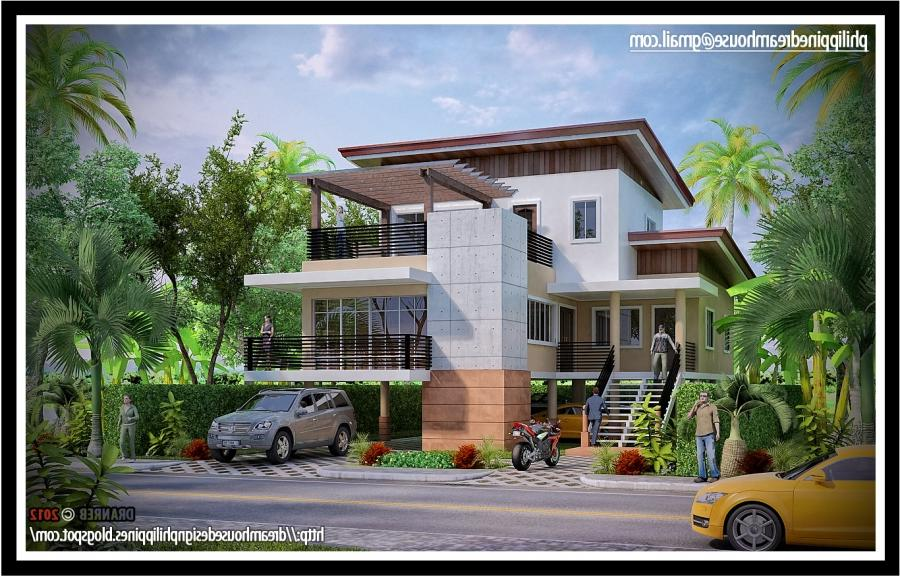 Modern house design photos philippines for Wallpaper home philippines