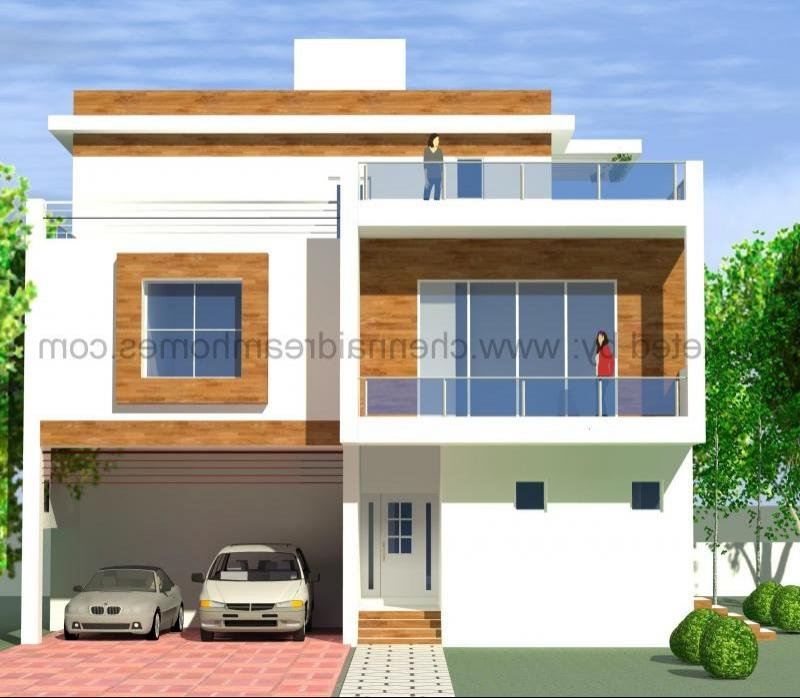 Tamilnadu House Front Elevation Photos