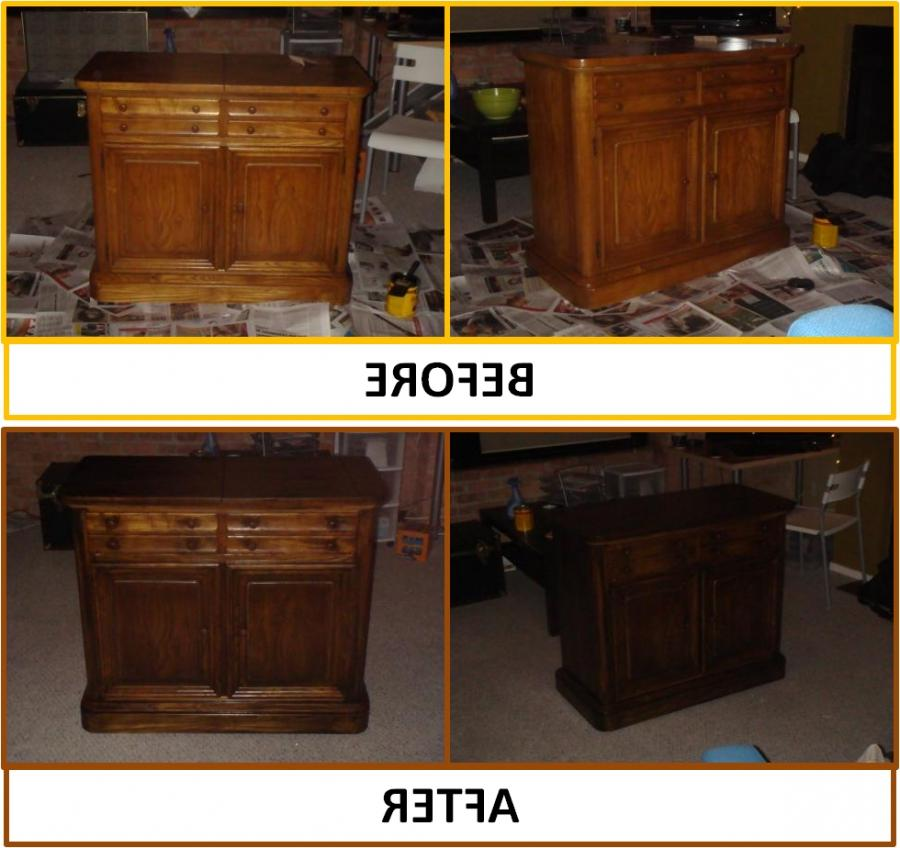 Furniture Refinishing Before And After Photos
