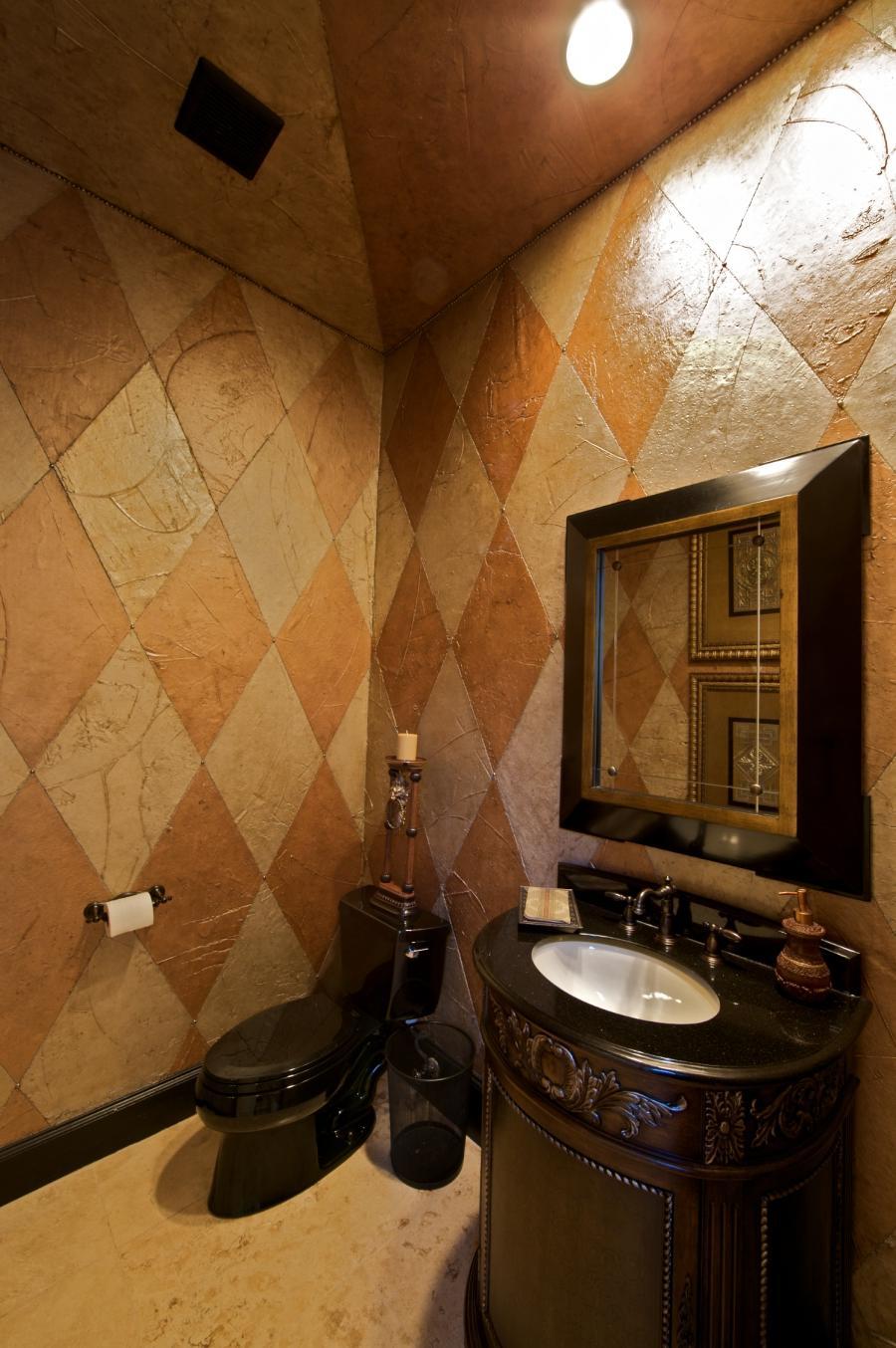 Half bathroom remodeling photos for Bath remodel dallas