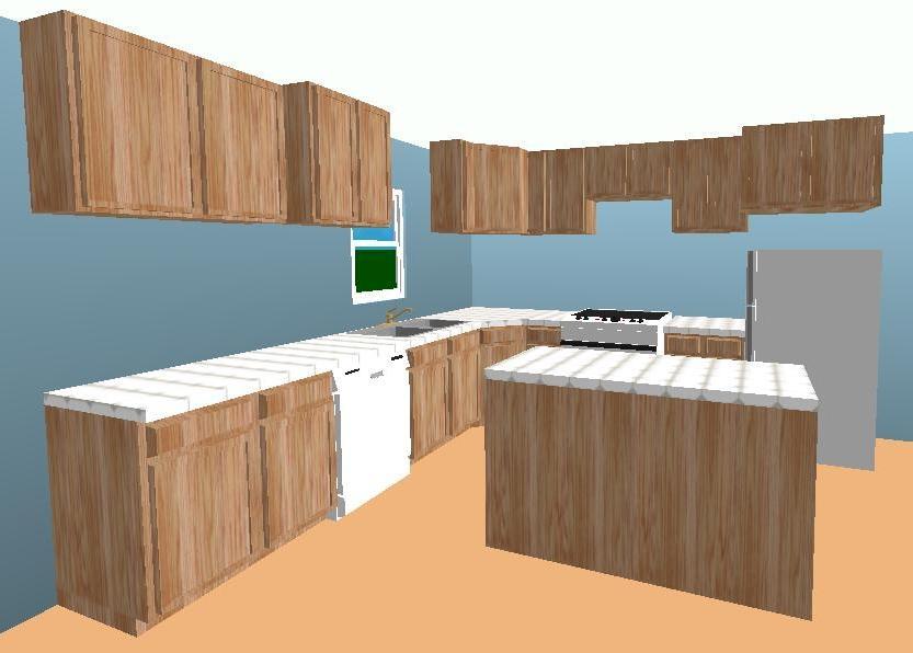 Kitchen Cabinet Layout Photos