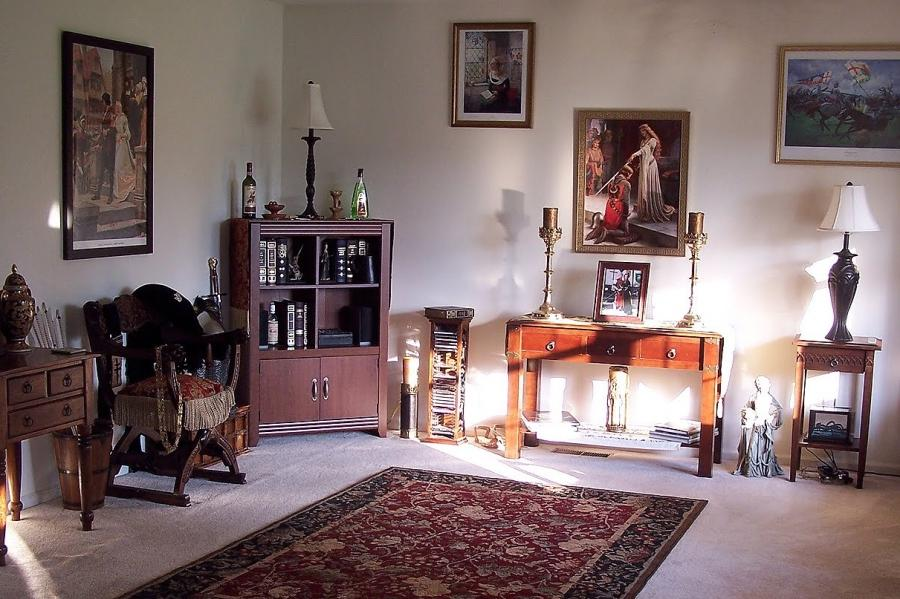 Elegant Gothic Home Decor: Decor Bedroom Photos Medieval