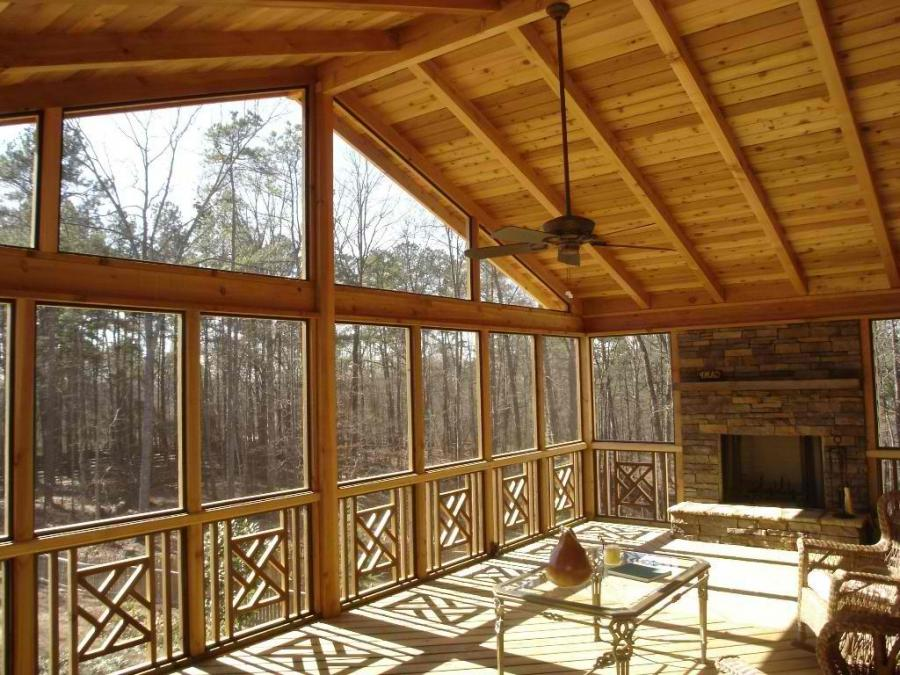 Interior Screened Porch : Interior photos of screened porches