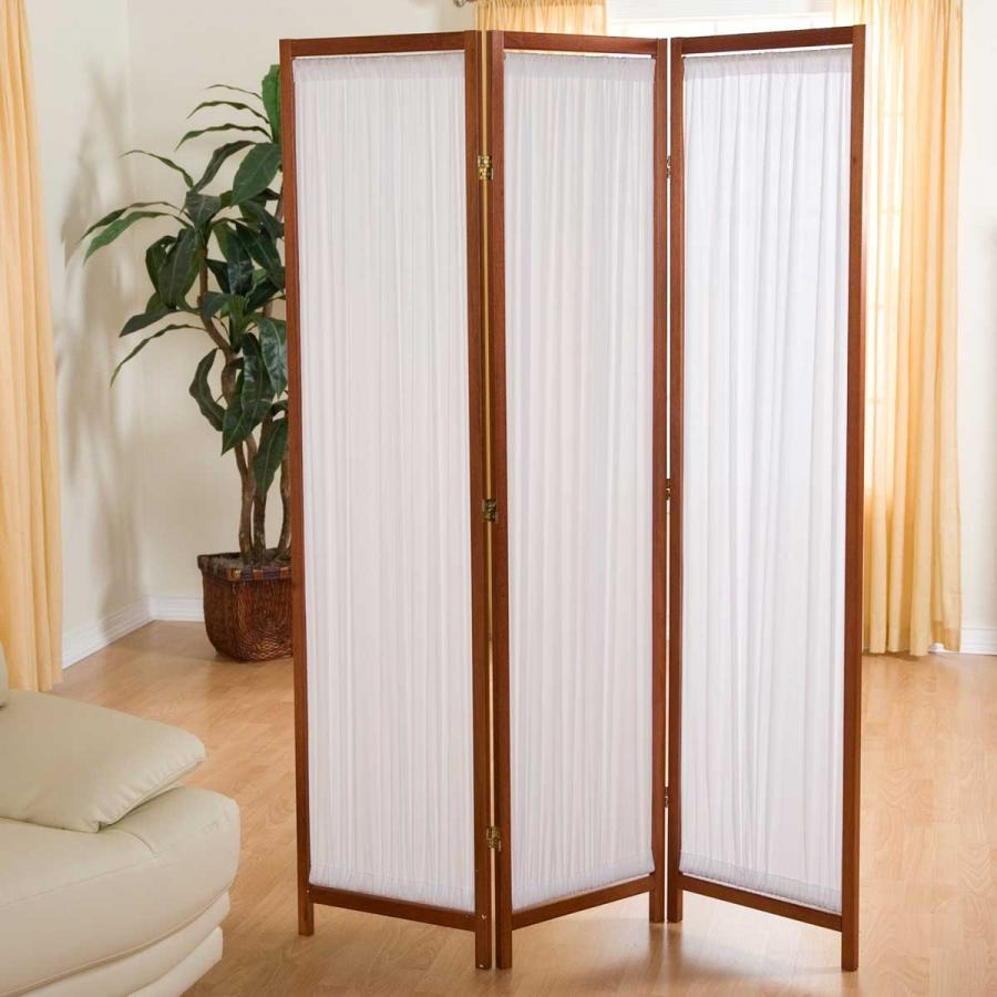 Tri fold photo room divider for Wall screen room divider
