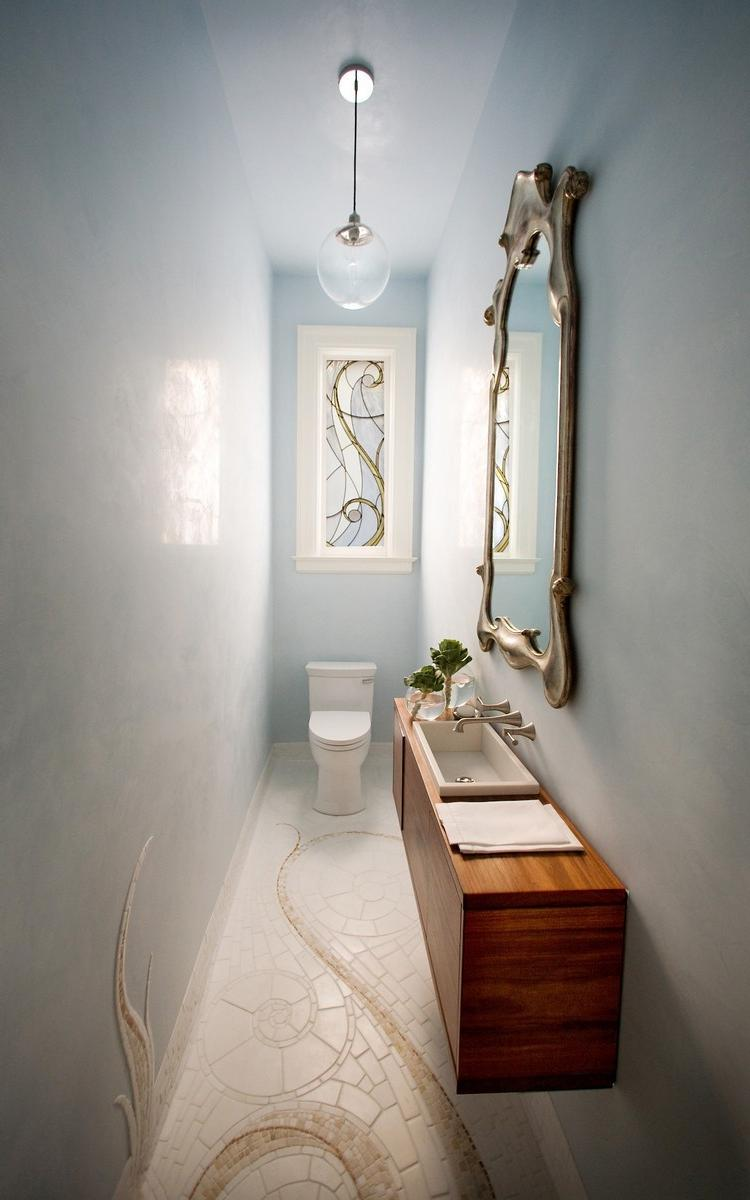 Small powder room decorating ideas photos - Powder room designs for small spaces image ...