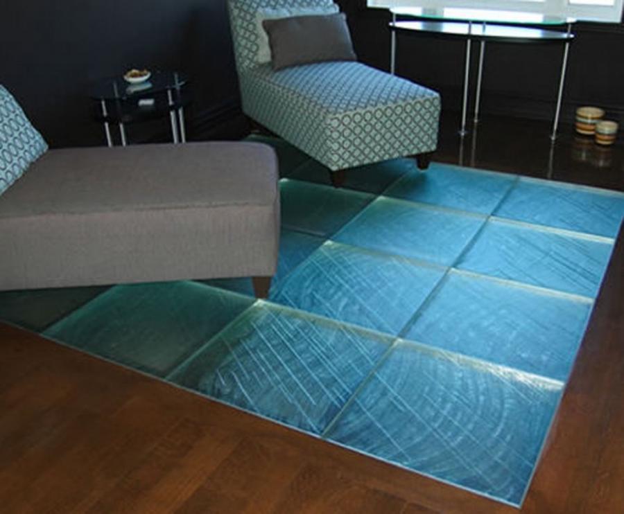 Laminated Glass Flooring Service : Glass floor photo