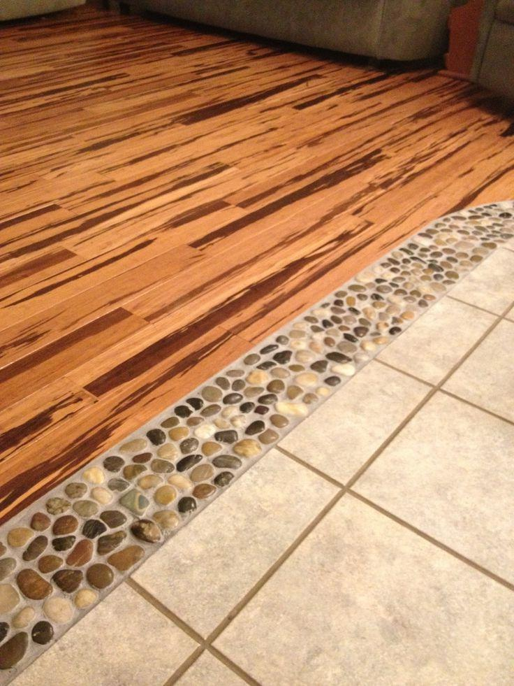 River Rock Flooring Photos