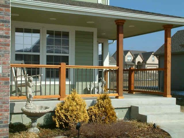 small front porch railing decorating ideas pictures 9 Beautiful...