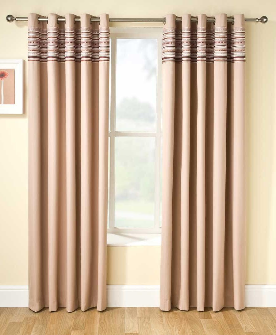 Siesta Blackout Curtain Natural