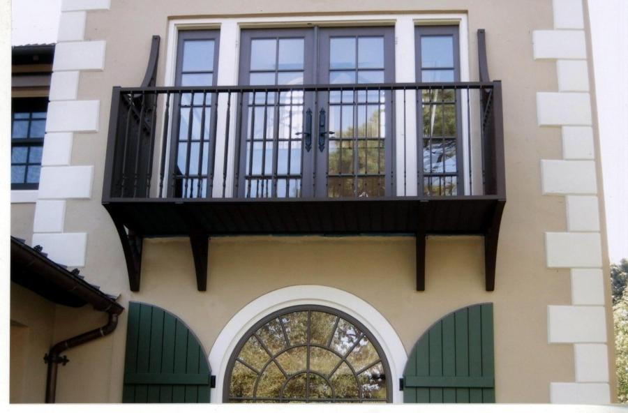 Existing Front Balcony
