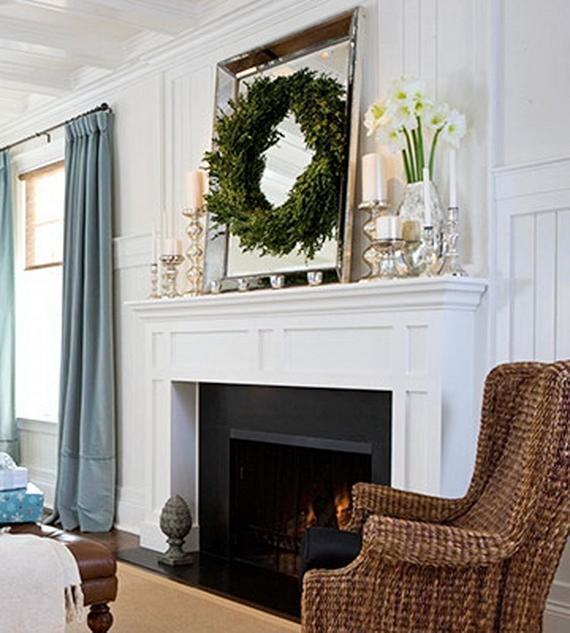 Decorating A Fireplace Mantel Photos