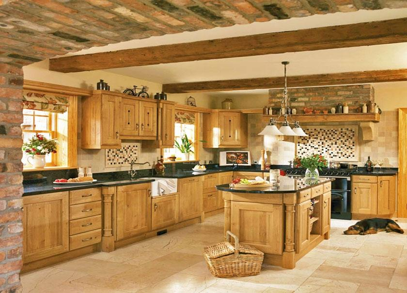 Oak Kitchen Design Photos