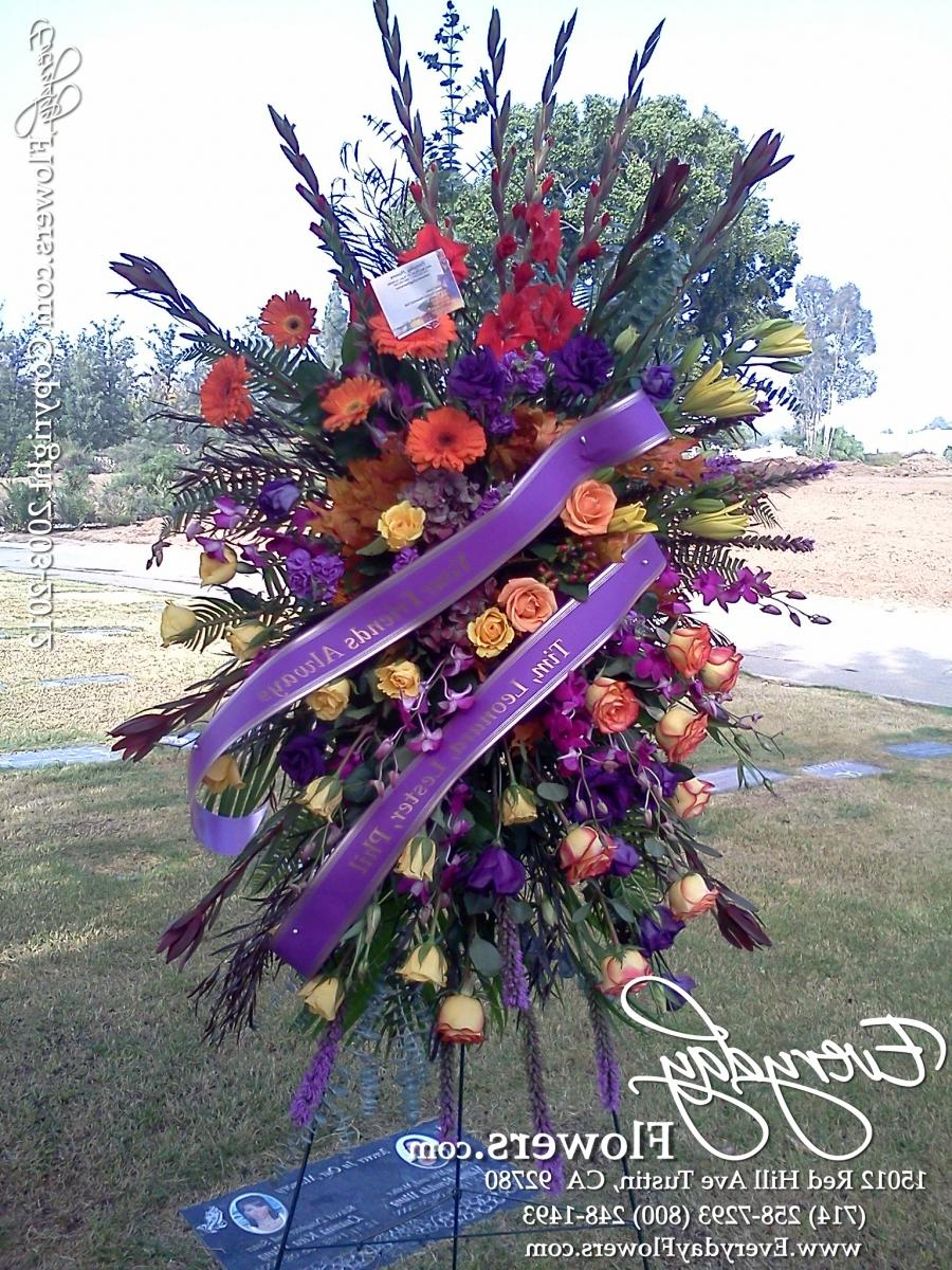 Photos Of Funeral Flowers