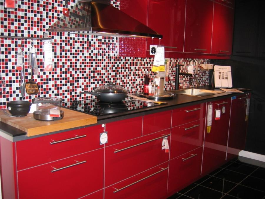 Furniture For Small Spaces Ikea Red Kitchen Cabinets Filmesonline co